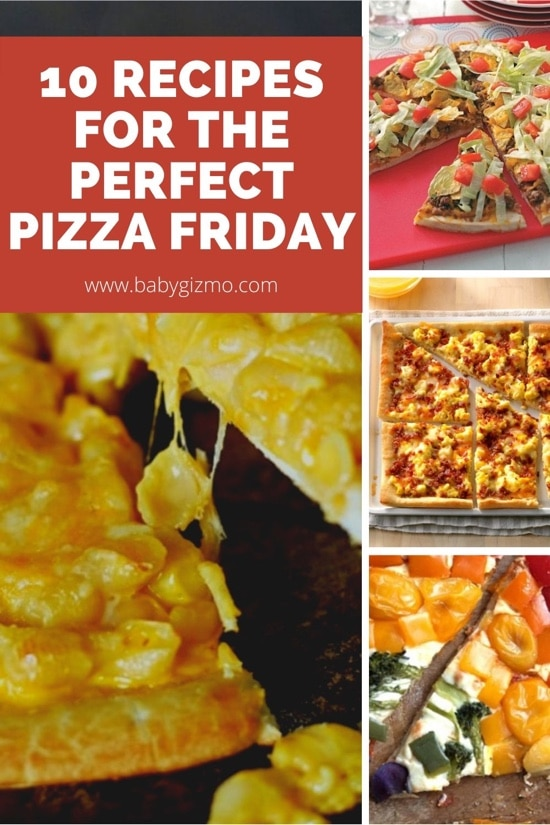 10 Recipes for the Perfect Pizza Friday