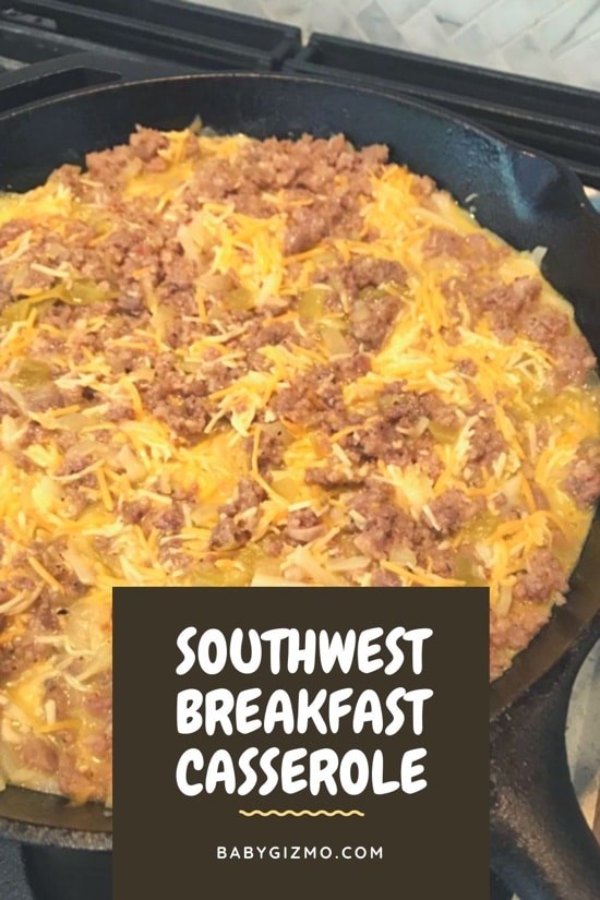 Southwest Breakfast Casserole