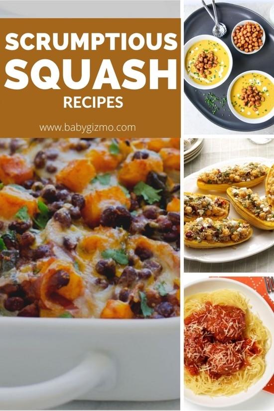 9 Scrumptious Squash Recipes