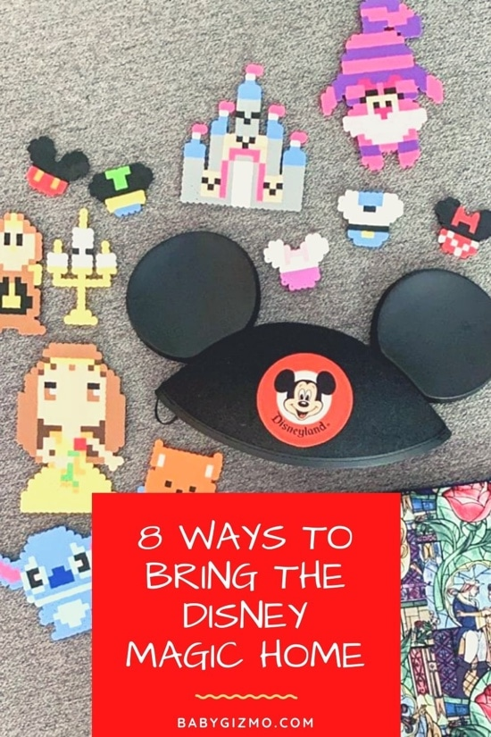 8 Ways To Bring the Disney Magic Home