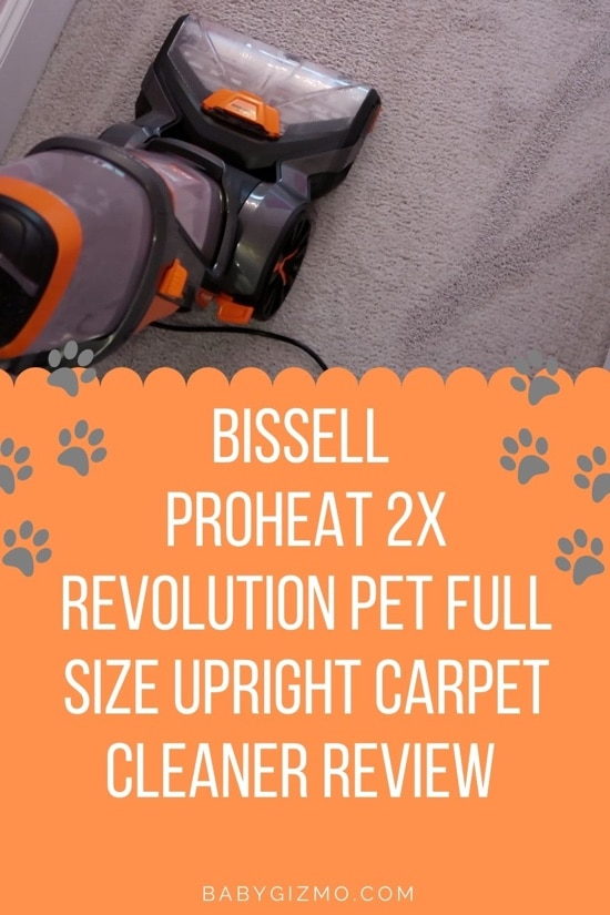 BISSELL ProHeat 2X Revolution Pet Full Size Upright Carpet Cleaner REVIEW