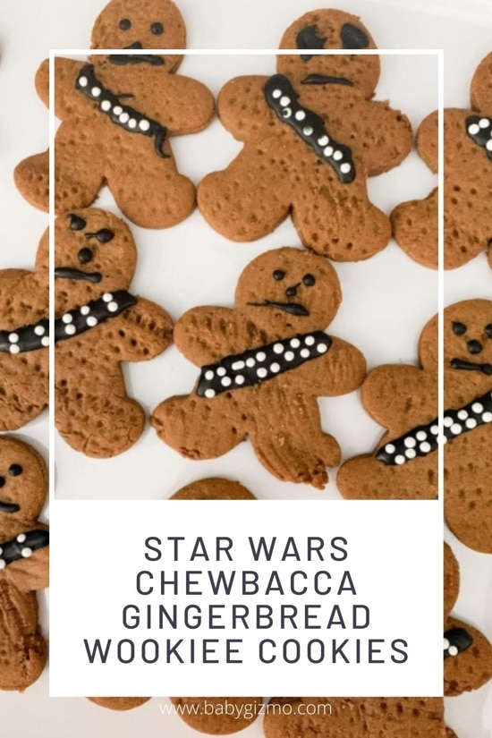 Star Wars Chewbacca Gingerbread Wookiee Cookies