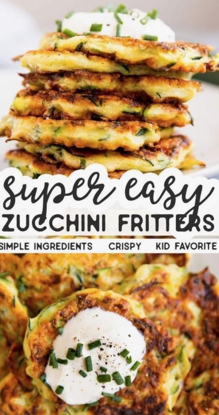 Zucchini Fritters - Zucchini Recipes