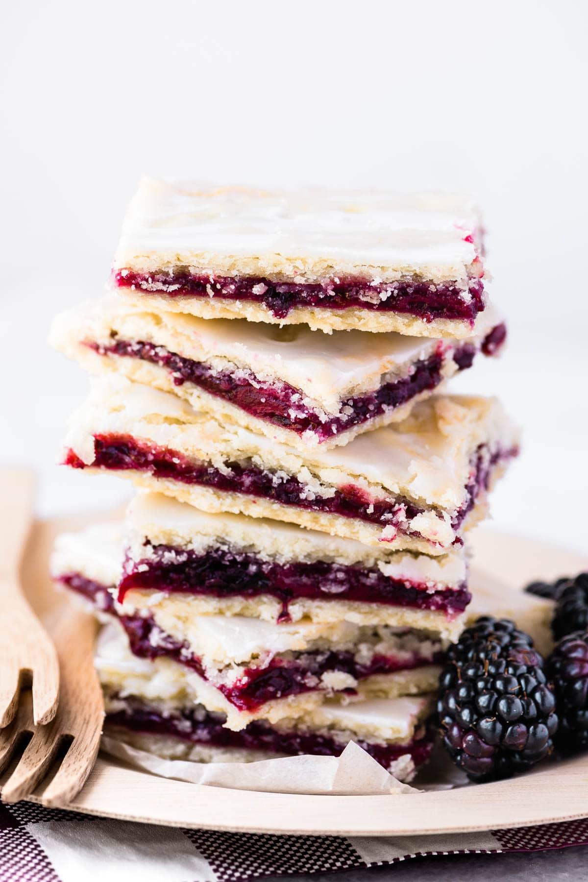 Berry recipes - Blackberry pie