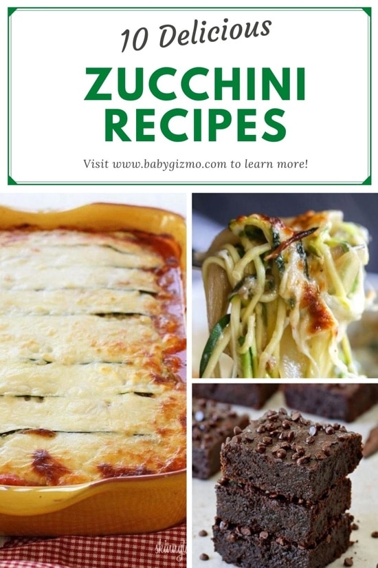 10 Fantastic ZUCCHINI Recipes