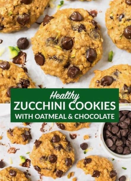 Cookies - Zucchini Recipes