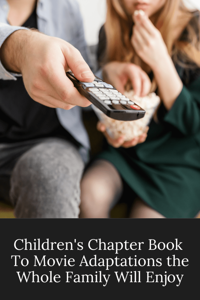 12 Children's Chapter Book To Movie Adaptations