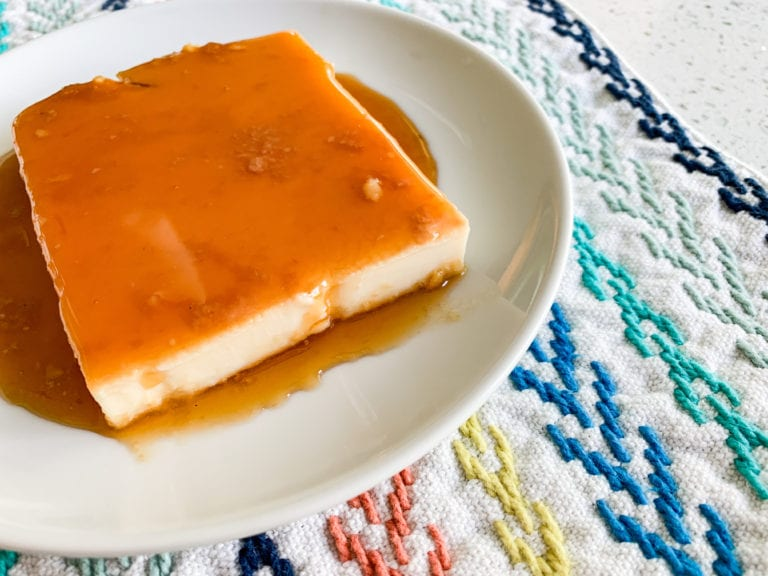 Easy Caramel Flan Recipe