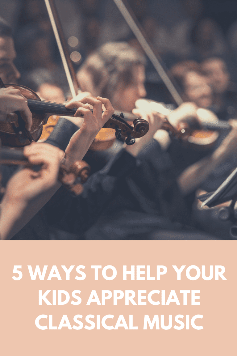 5 Ways To Help Your Kids Appreciate Classical Music