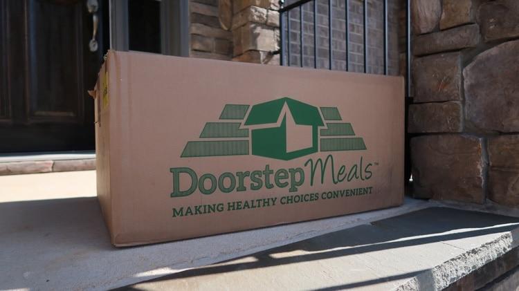 doorstep meals box
