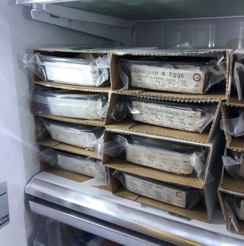 Doorstep Meals in Refrigerator
