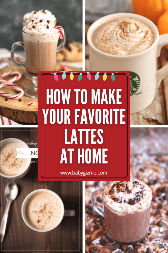 Make Starbucks Holiday Lattes At Home
