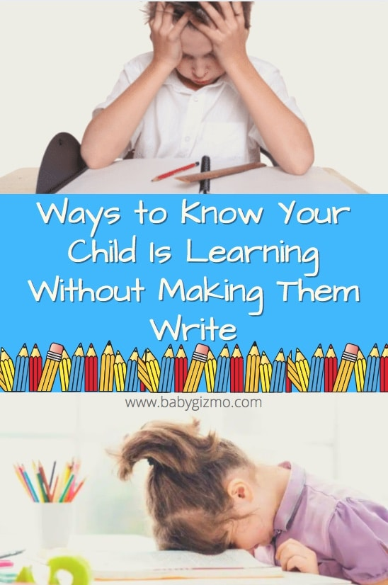 Ways to Know Your Child Is Learning Without Making Them Write