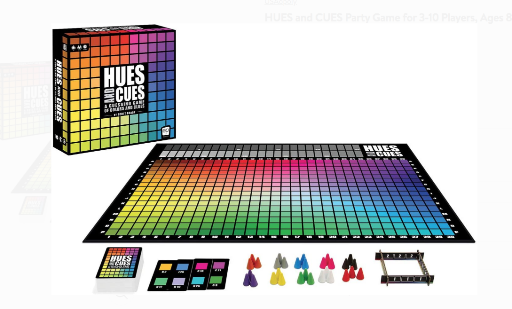 Hues and Cues for Family Game Night