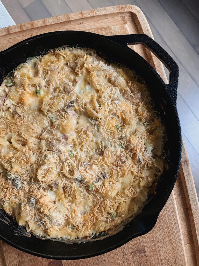 Crazy Good Tuna Noodle Casserole