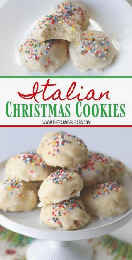 Italian Christmas Cookie Italian cookie