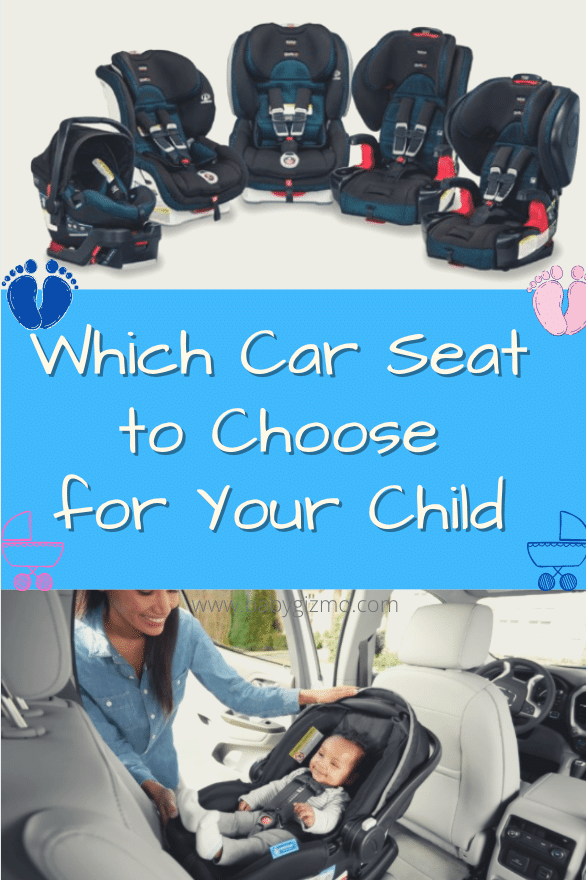 Different Car Seat Options for Your Child