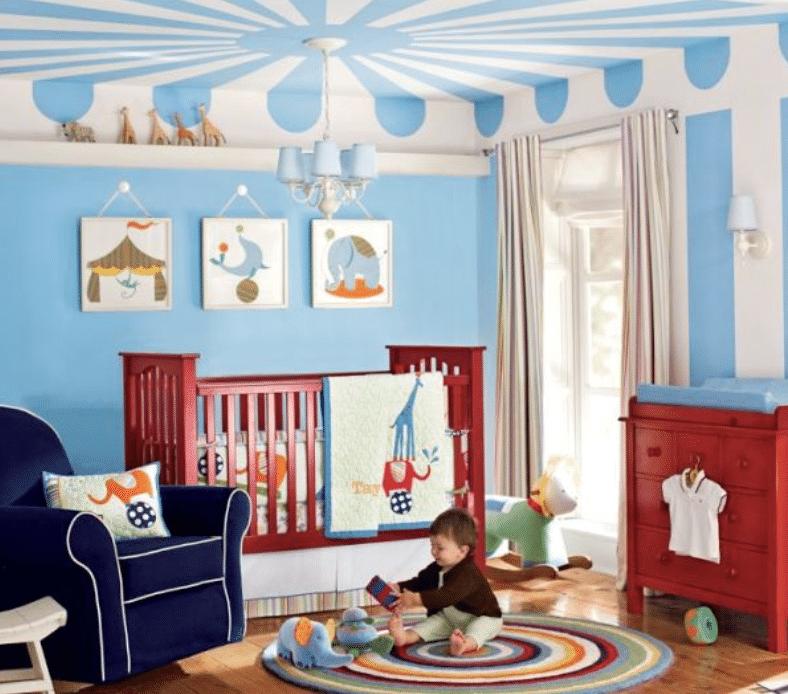Circus Nursery theme