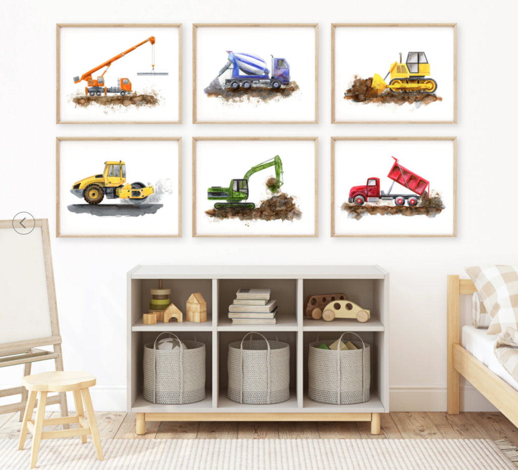 construction zone nursery