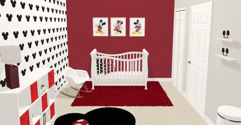mickey mouse nursery themes