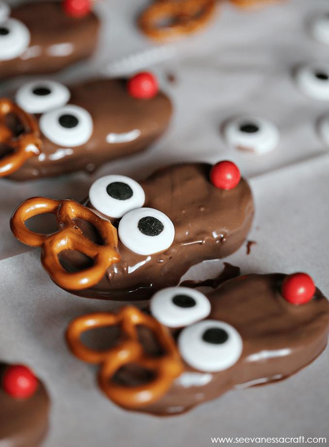 Reindeer Cookies Christmas Cookie recipe