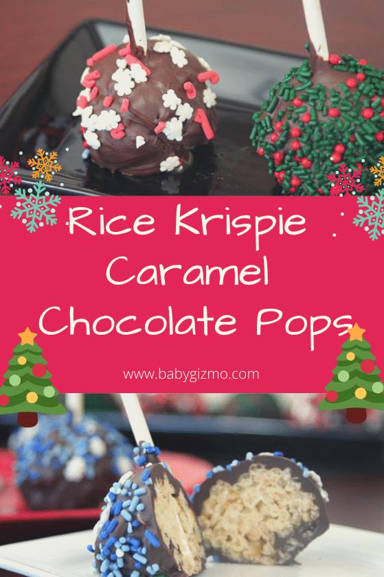 rice krispie caramel chocolate