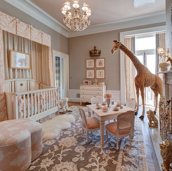 Tea party nursery