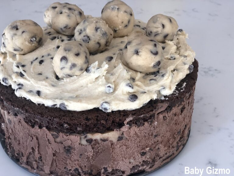 Brownie Cookie Dough Ice Cream Cake Recipe