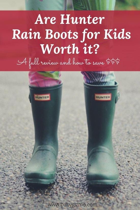 Hunter Rain boots for Kids