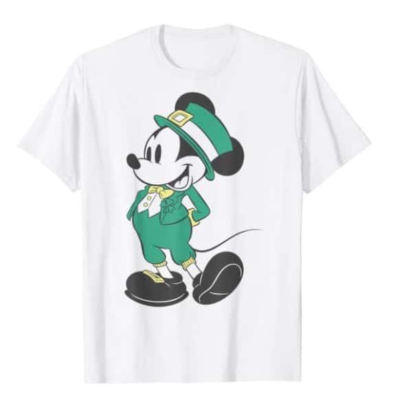 mickey mouse leprechaun shirt