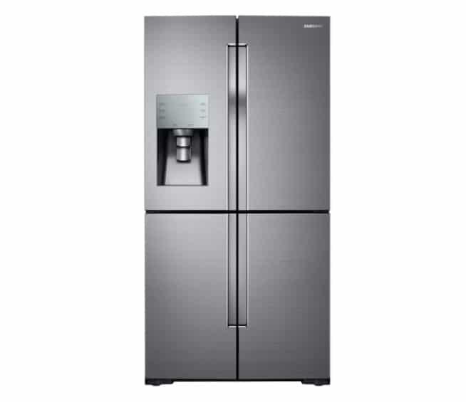 Samsung 4 door flex Refrigerator closed