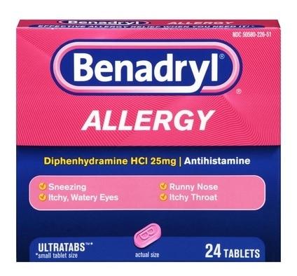 benadryl and breastfeeding