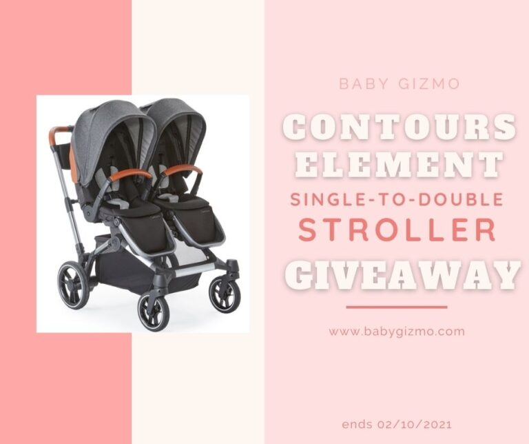 Contours Element Single-to-Double Stroller Giveaway