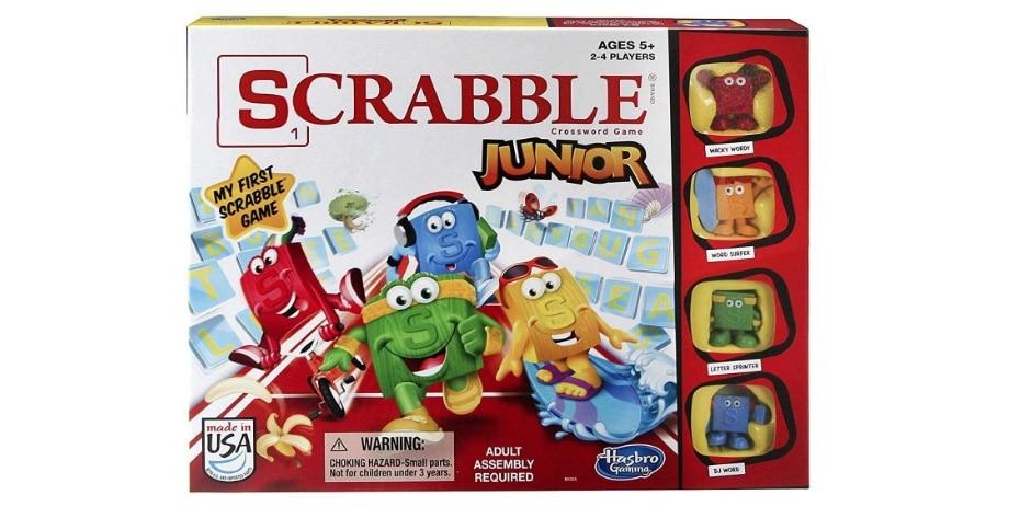 scrabble junior game box