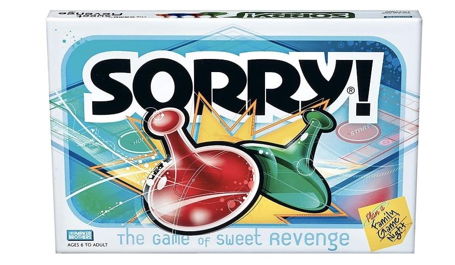 sorry game box