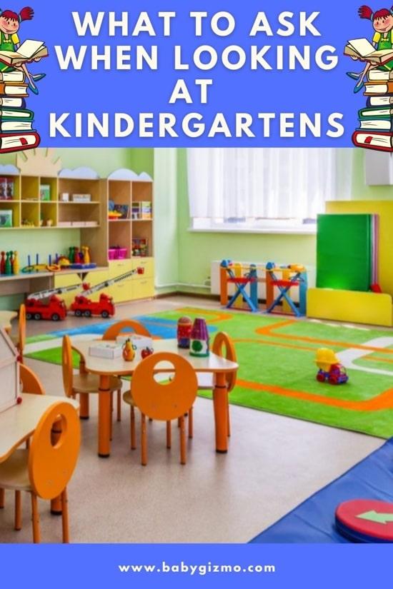 what to ask kindergarten