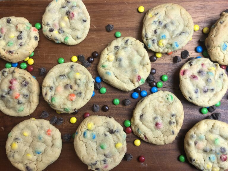 Chocolate Chip M&M Pudding Cookies