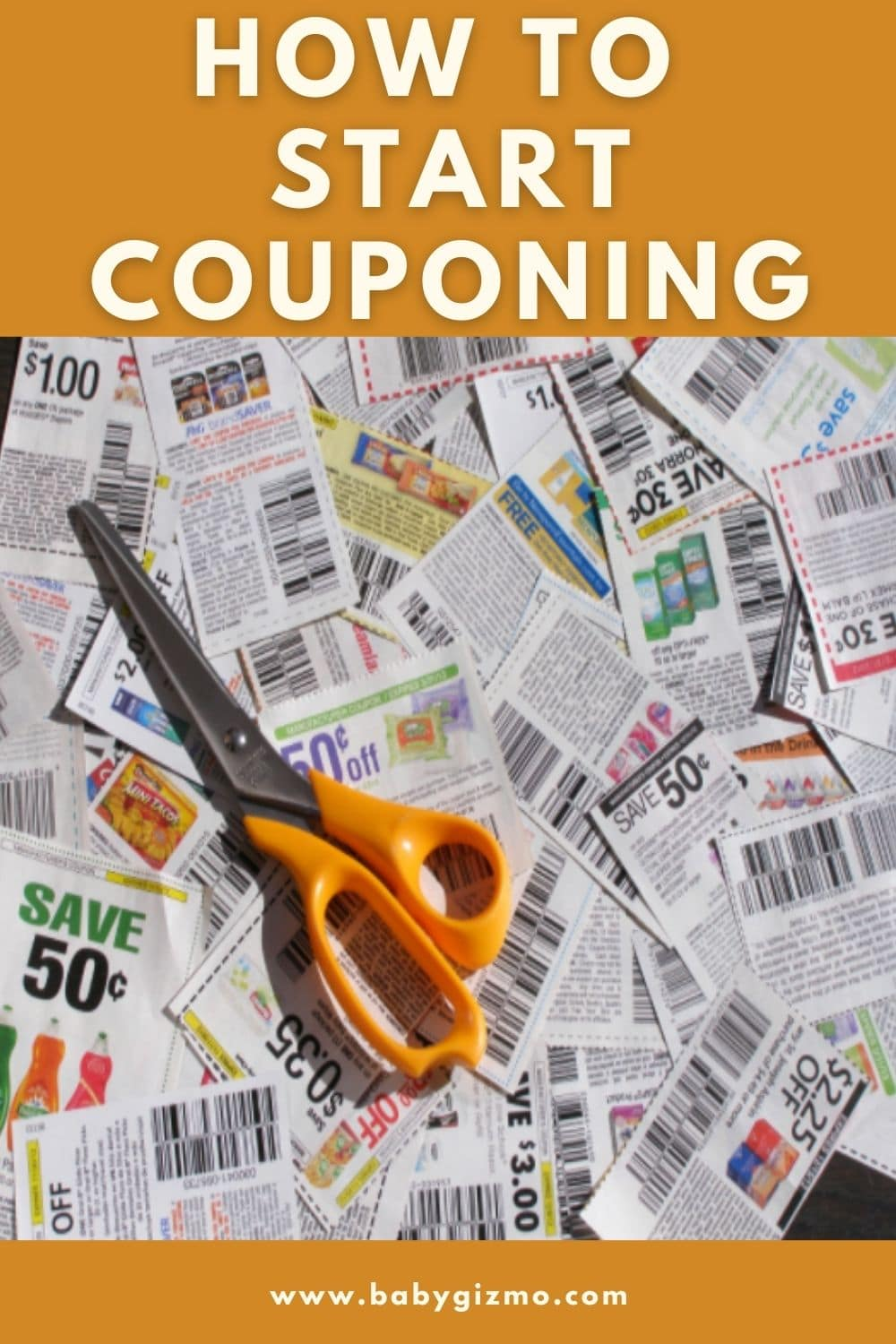 coupons with a scissors