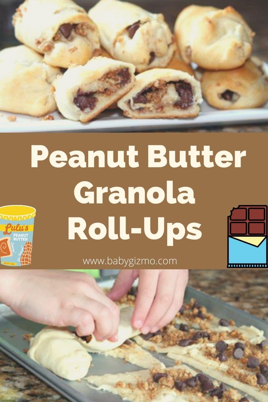 peanut butter roll up desserts