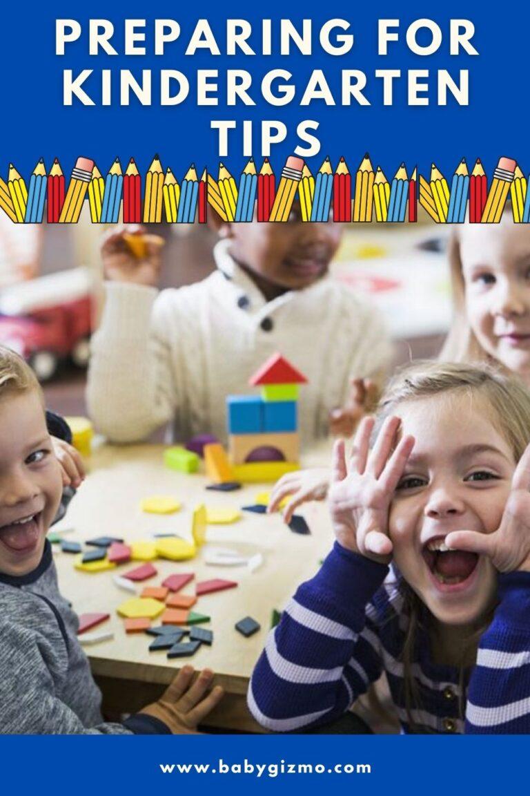 Tips on Preparing for Kindergarten