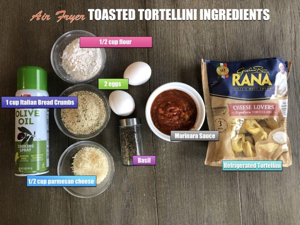 Air Fryer Toasted Tortellini