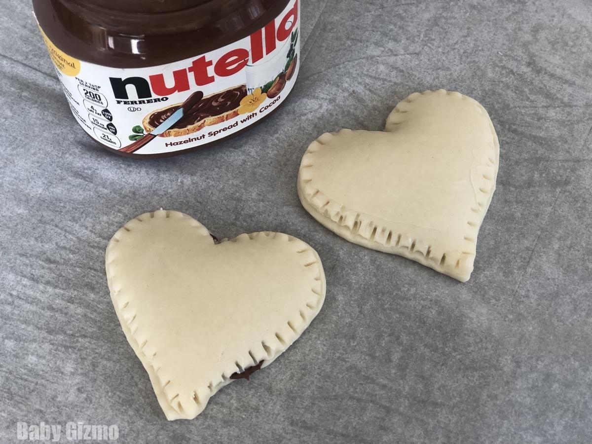 Heart Shaped Pop Tarts
