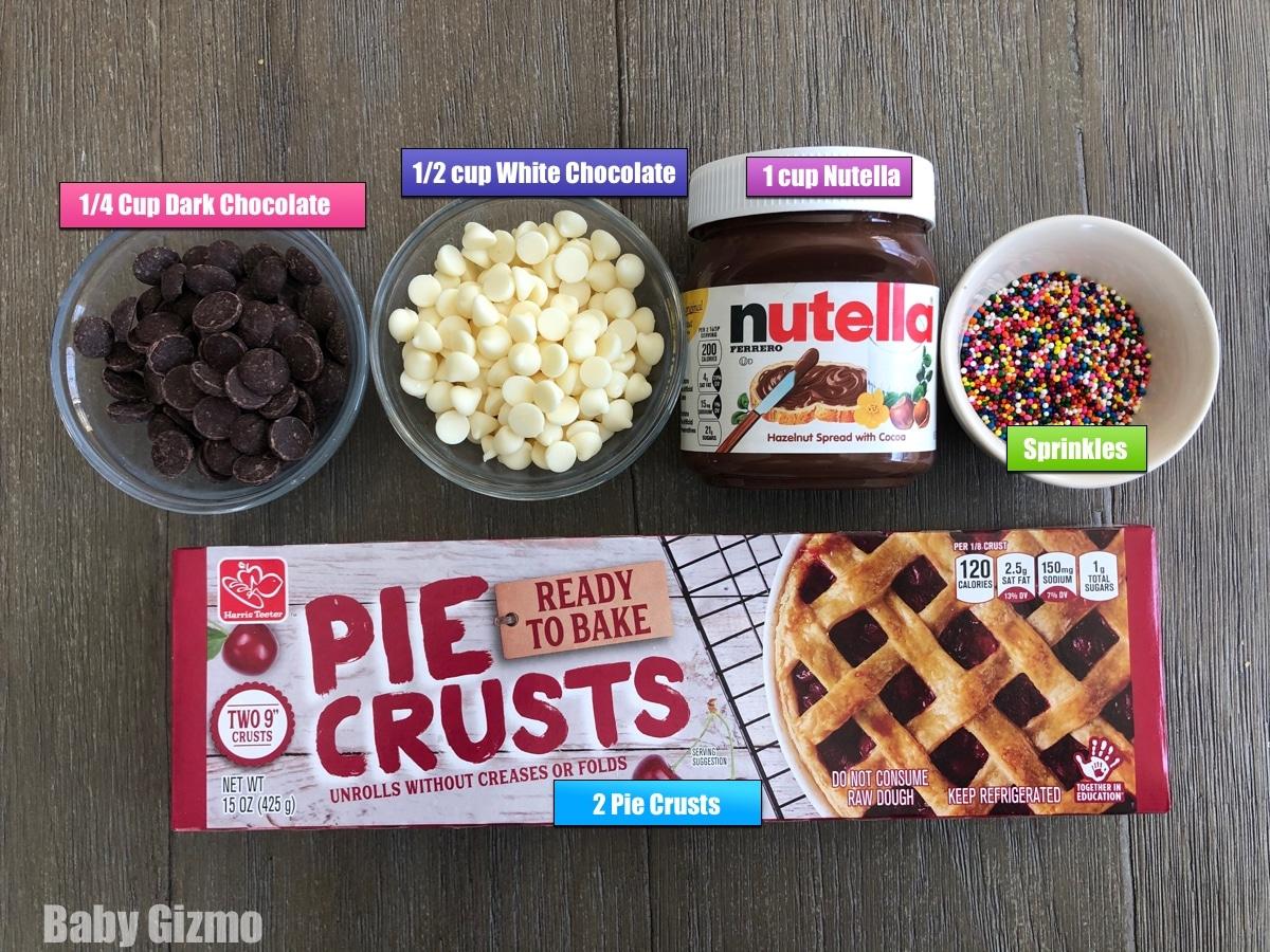 Nutella Pop Tart Ingredients