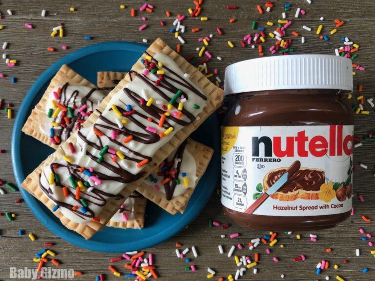 Homemade Nutella Pop Tarts Recipe