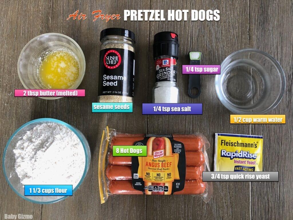 pretzel dog ingredients