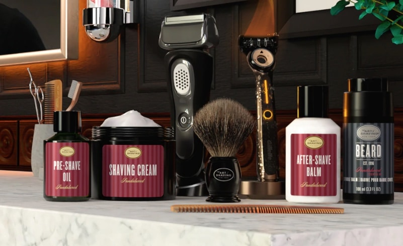 the art of shaving products