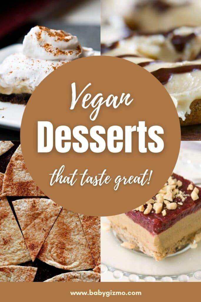 vegan dessert options