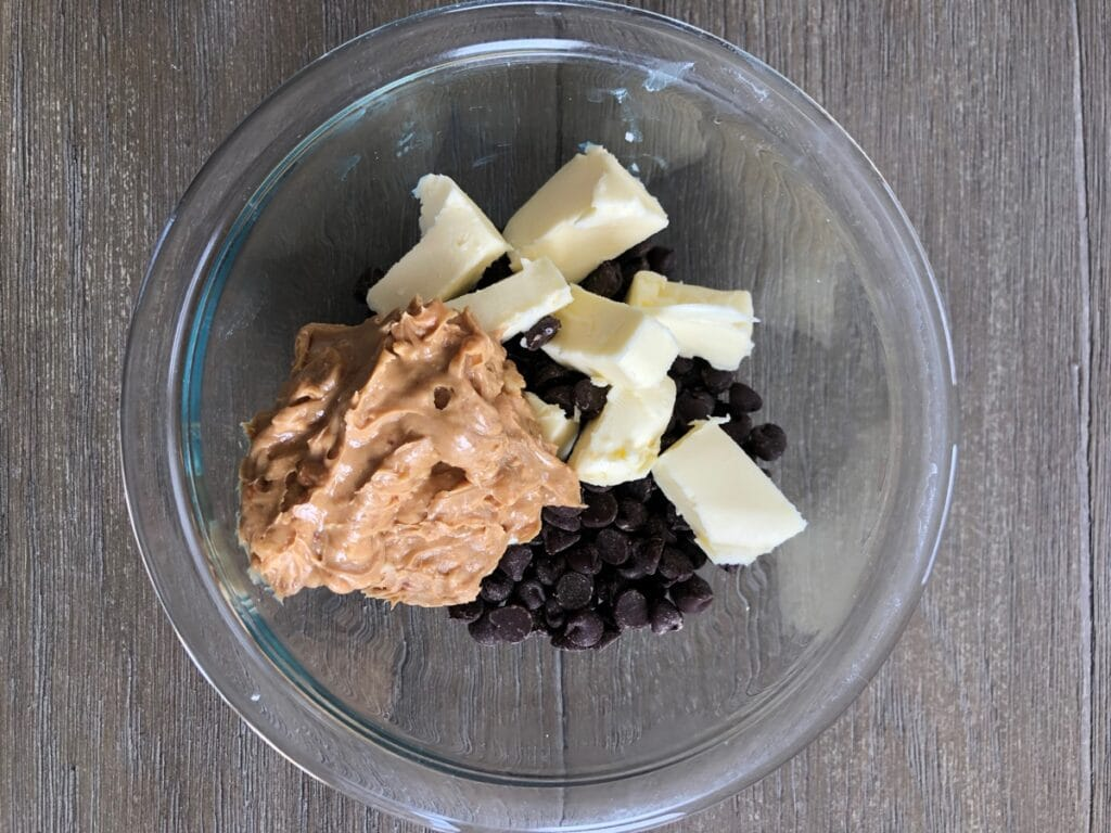 chocolate butter and peanut butter