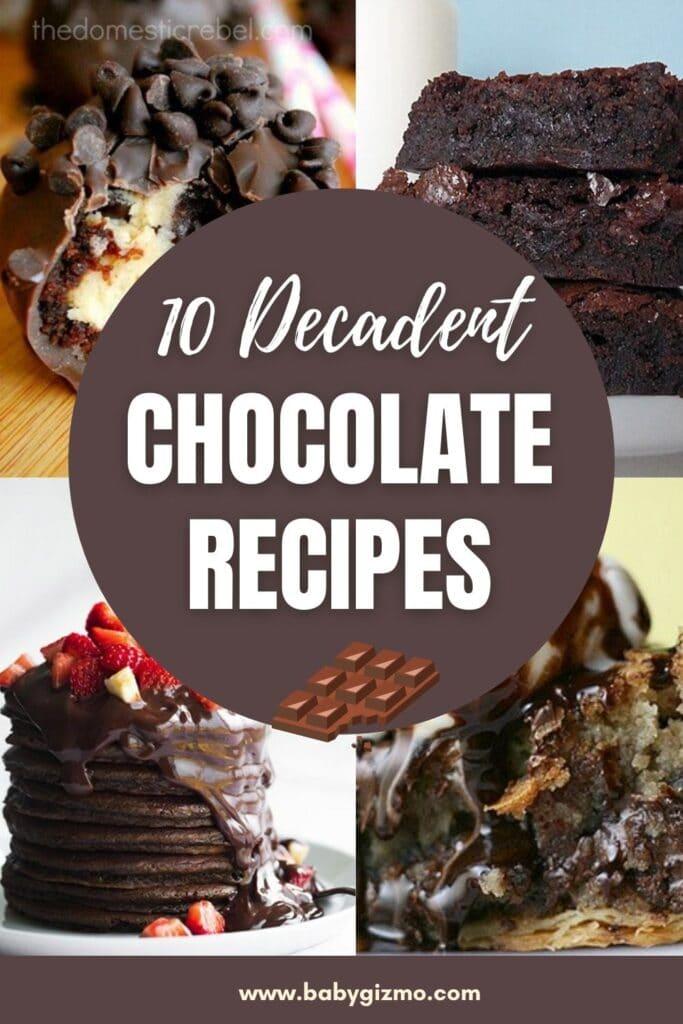 chocolate recipes