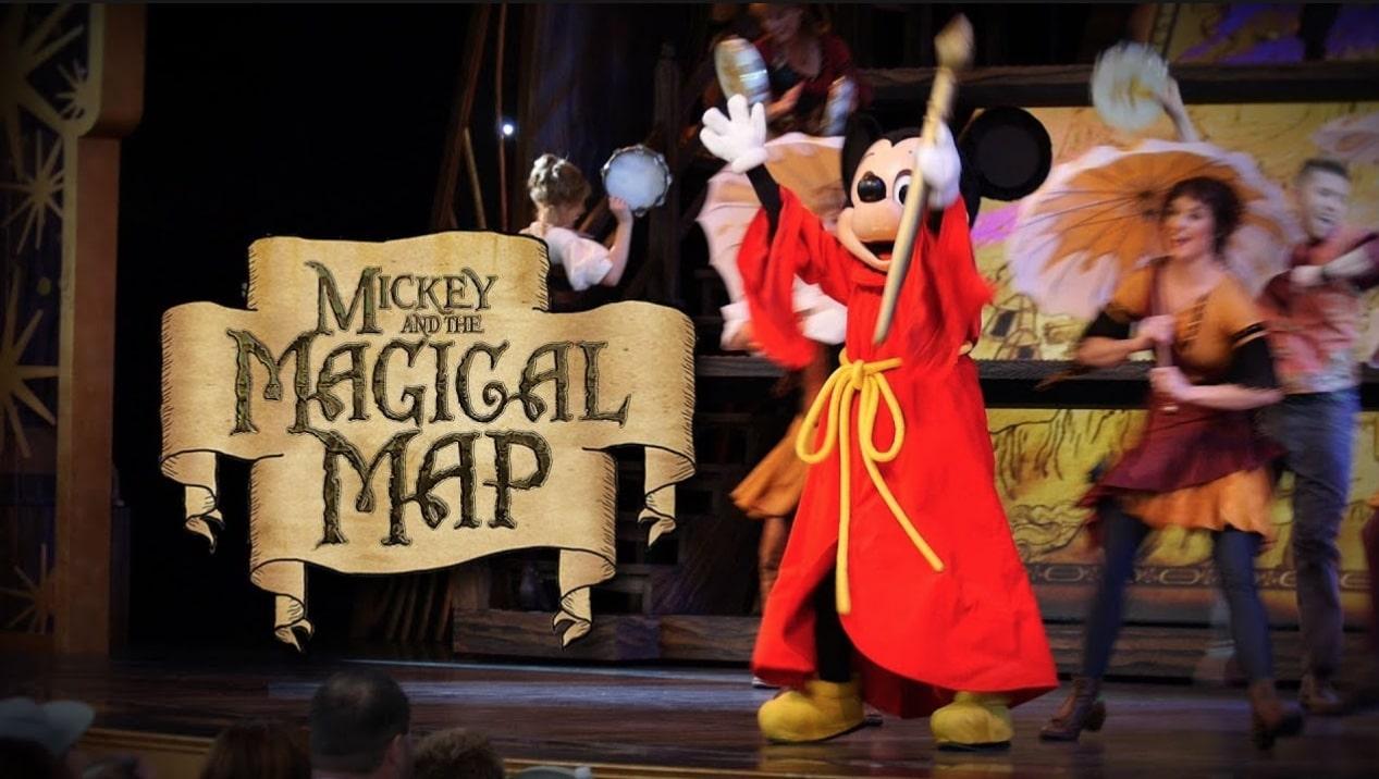disney magical map